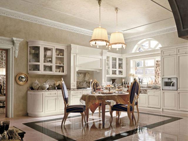 Modelli cucine classiche for Cucine classiche