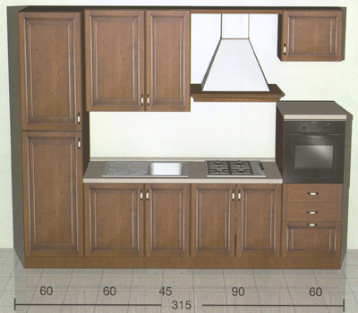 Modelli di piccole cucine for Modelli di case piccole
