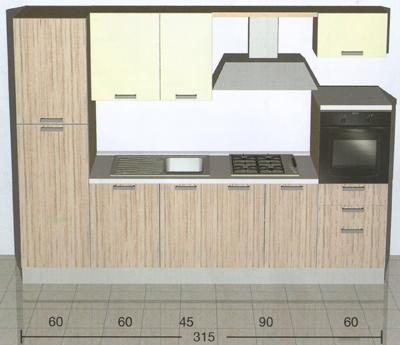 Modelli di piccole cucine