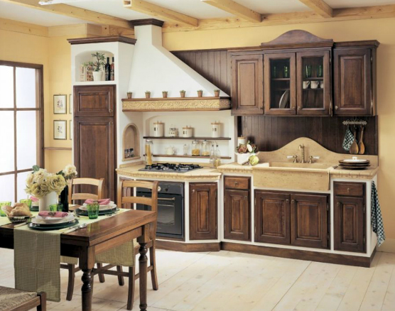 Modelli cucine in muratura