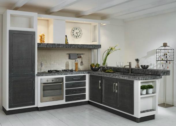 Awesome modelli cucina in muratura gallery ideas - Moduli per cucine in muratura ...