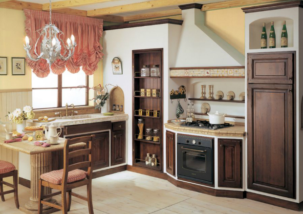 Modelli cucine in muratura - Cucine finta muratura lube ...