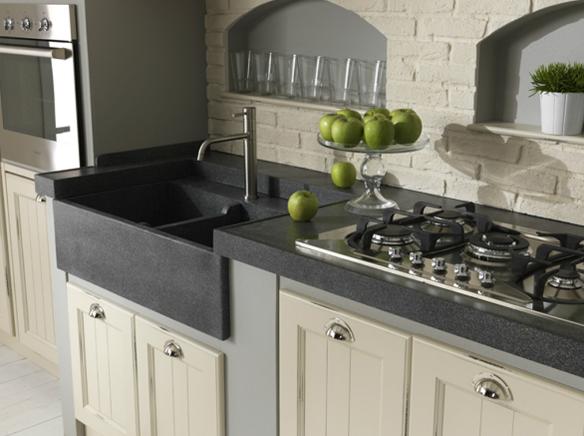 Lavello cucina ceramica online il meglio del design - Lavello cucina resina ...