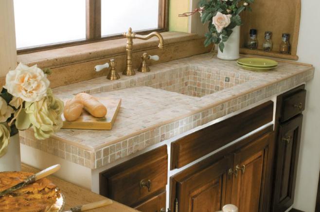 Lavelli per cucine muratura