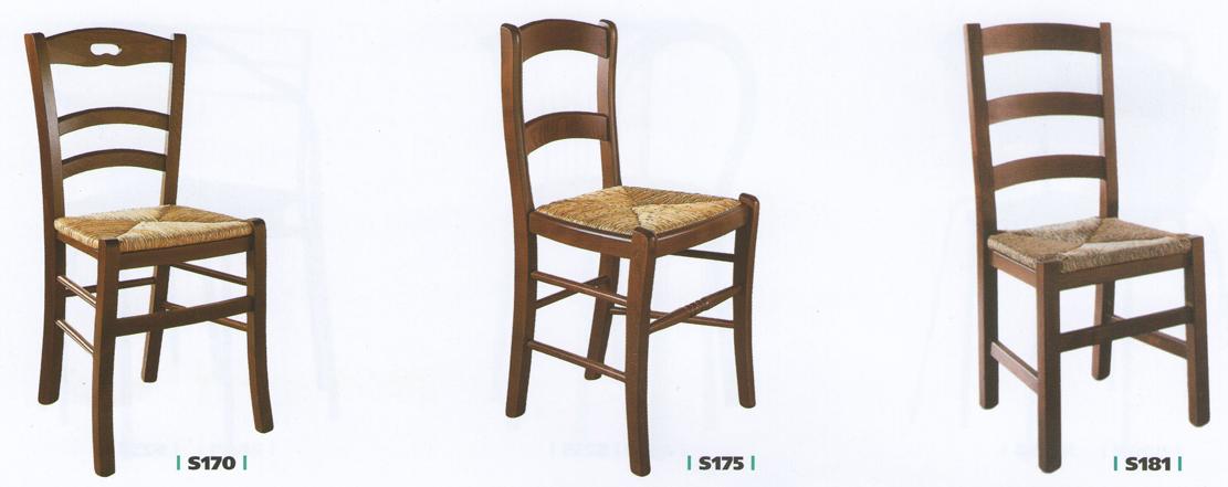Sedie per cucine classiche for Vendita sedie da cucina