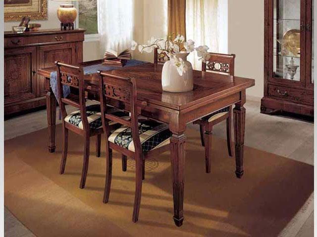 Tavoli per cucina classica