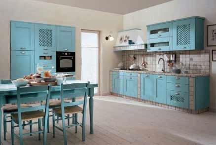 Gli stili delle cucine for Cucine antiche moderne