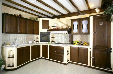 Mobili per cucine in muratura