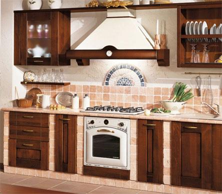 Normali cucine trasformate in muratura